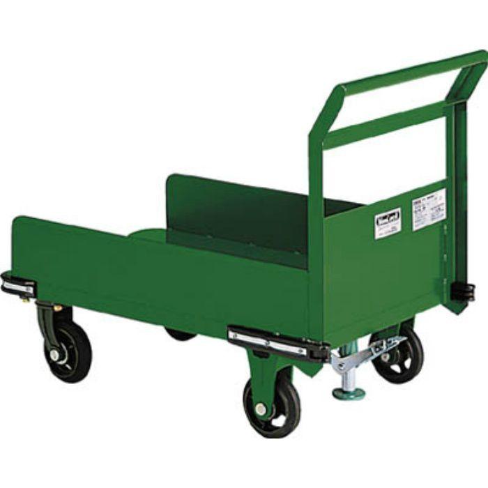 OHN23PS 鋼鉄製運搬車 900X600 三面パネル S付