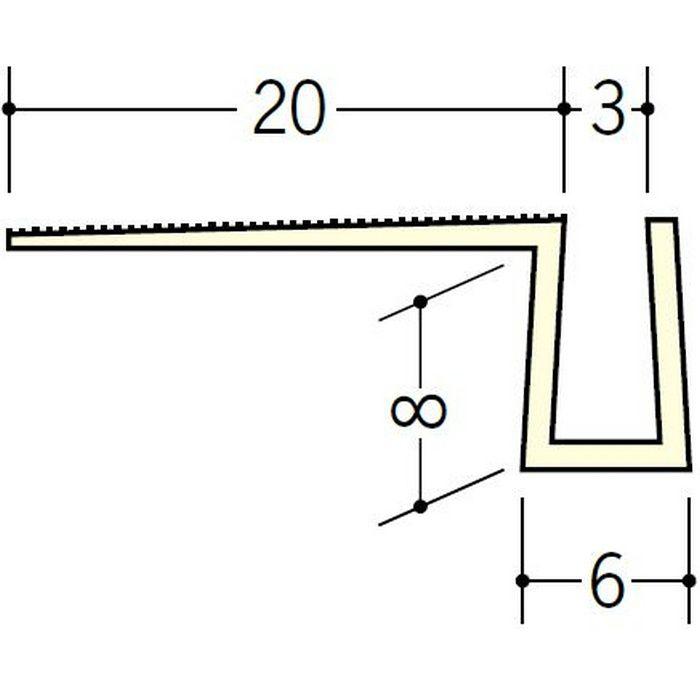 MB目地3 ミルキー 2.5m 34082-1