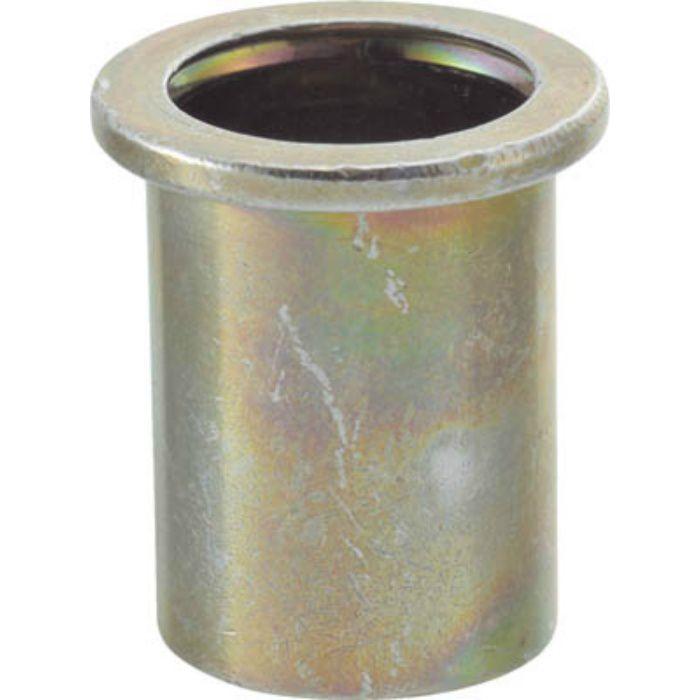 TBN10M40SC クリンプナット平頭スチール 板厚4.0 M10X1.5 500個入