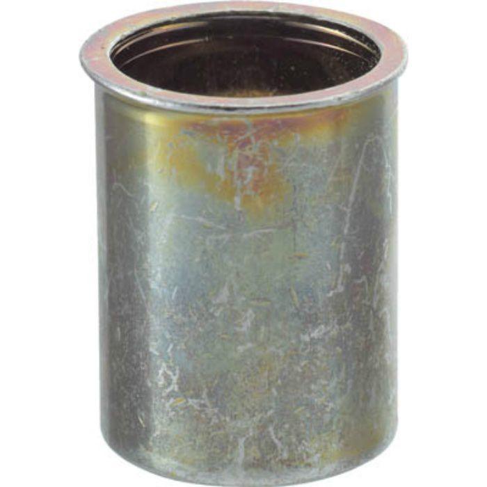 TBNF10M25SC クリンプナット薄頭スチール 板厚2.5 M10X1.5 500個入