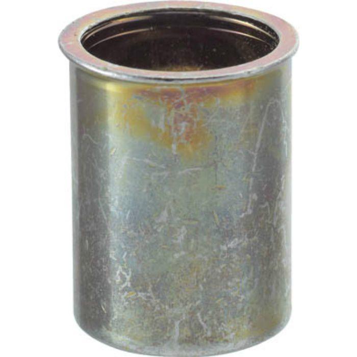 TBNF4M25S クリンプナット薄頭スチール 板厚2.5 M4X0.7 (37個入)