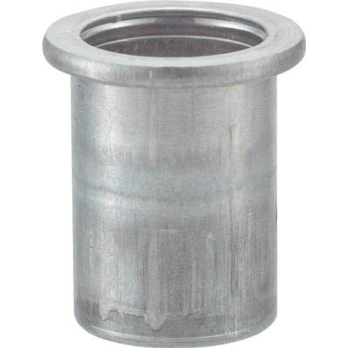 TBN8M25A クリンプナット平頭アルミ 板厚2.5 M8X1.25 (19個入)