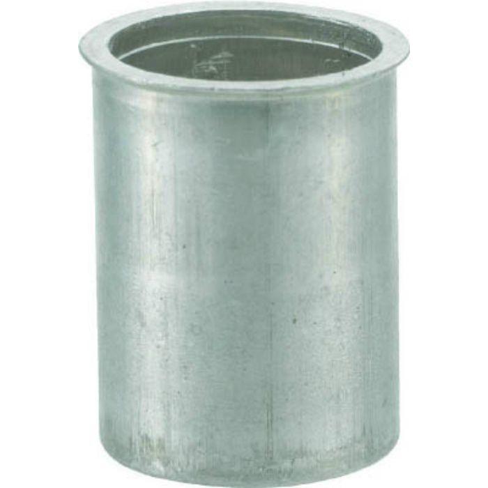 TBNF10M40AC クリンプナット薄頭アルミ 板厚4.0 M10X1.5 500個入