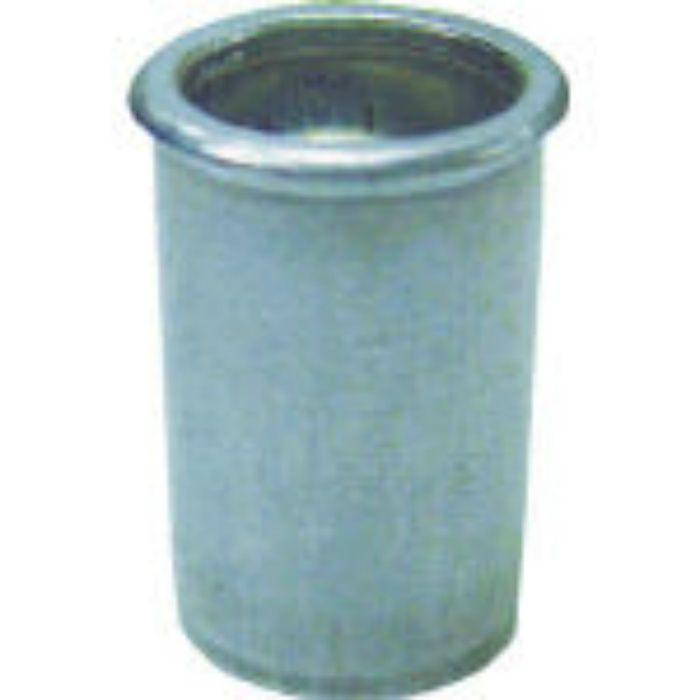 NAK5P パック入りナット(40本入) Kタイプ アルミニウム 5-3.2