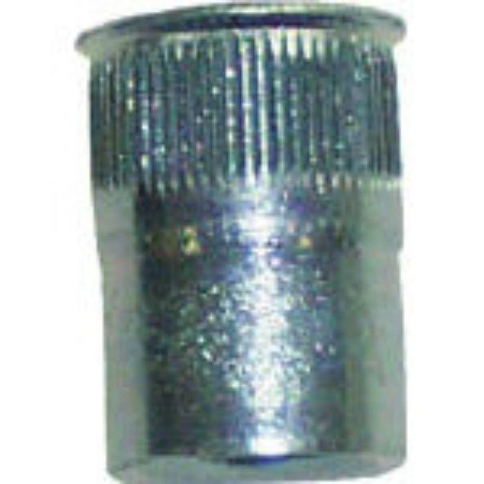 SFH425SFRLT ポップナットローレットタイプスモールフランジ(M4) (1000個入)