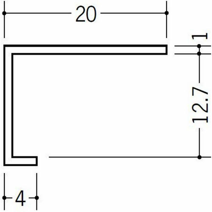 コ型見切縁 天井廻り ビニール 見切 TC-12 ホワイト 1.82m  33071