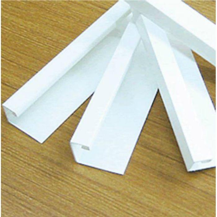 塩ビ天井見切縁 C見切(白) 丸型ジョイント付 C-6号(6mm用)