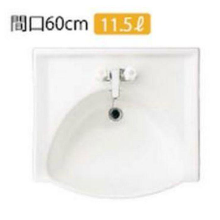 グランティスC W600 1面鏡 2ハンドル 混合水栓 ホワイト ME61B+WE6WA3+K1338BAM32 【セット品】