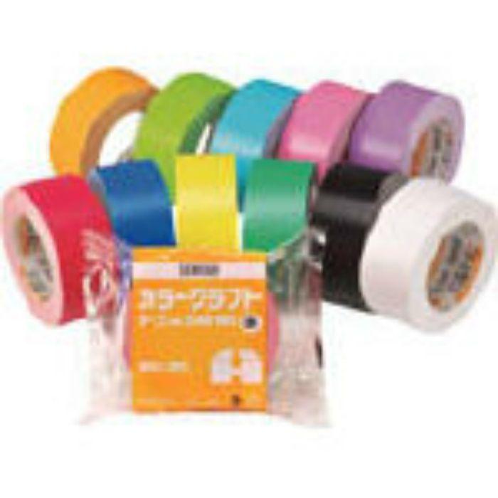 K50WY13 カラークラフトテープNo.500WC 黄