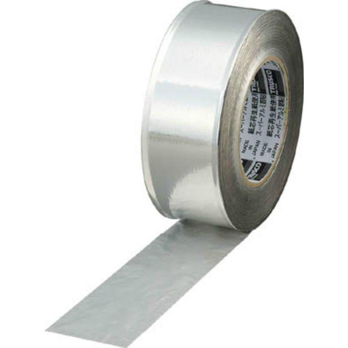 TRAT501 スーパーアルミ箔粘着テープ ツヤあり 幅50mmX長さ50m