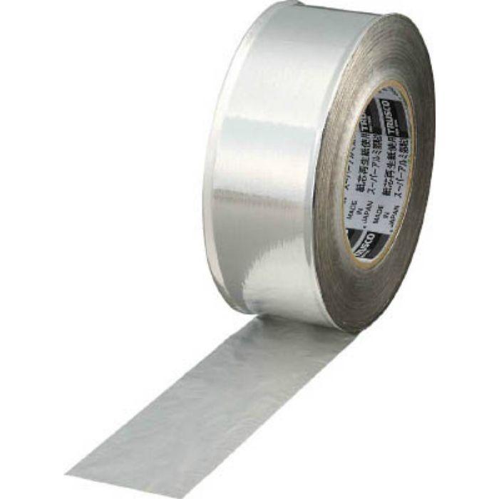 TRAT751 スーパーアルミ箔粘着テープ 75mm×50m ツヤあり