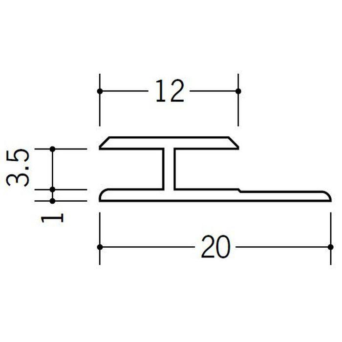 H型ジョイナー ビニール HG-3.5 ホワイト 1.82m  35032-1