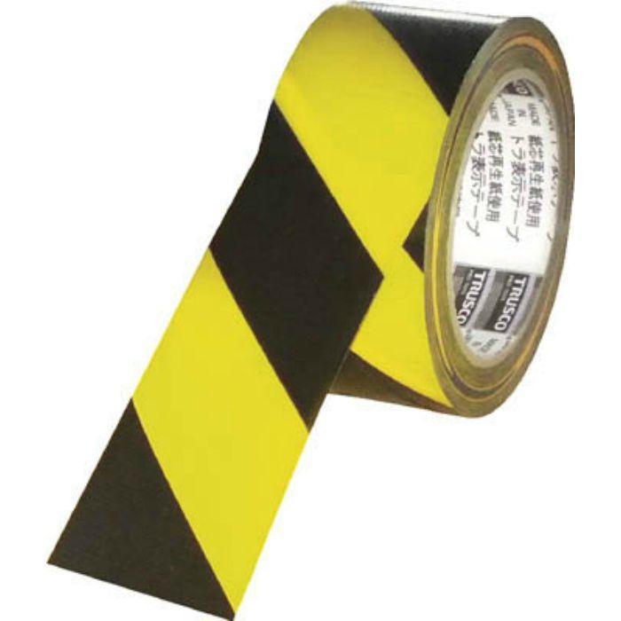 TRTR10025YB トラ表示テープ 100mm×25m