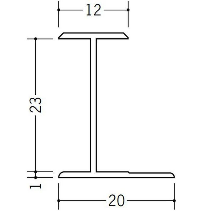 H型ジョイナー ビニール HG-23 ホワイト 1.82m  35103-1