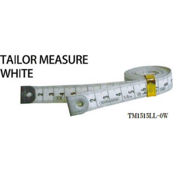 TM1515LL0W テーラーメジャー1.5m 0点 白/白