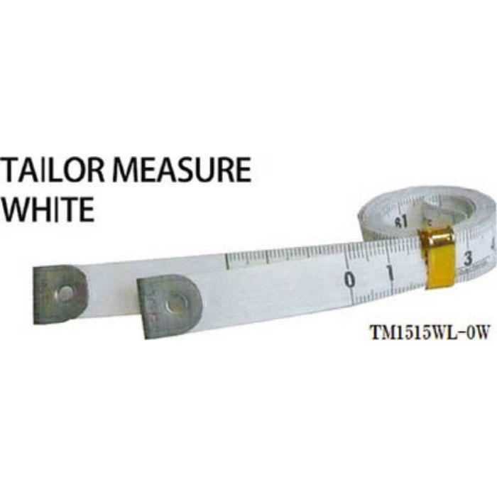 TM1515WL0W テーラーメジャー1.5m 0点 白/白