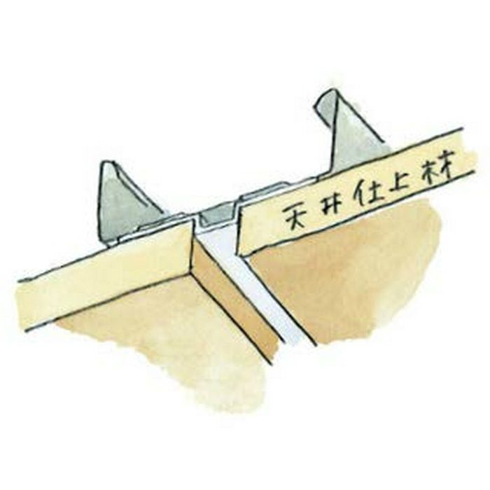 ハット型ジョイナー ビニール FH-15 ホワイト 1.82m  37055