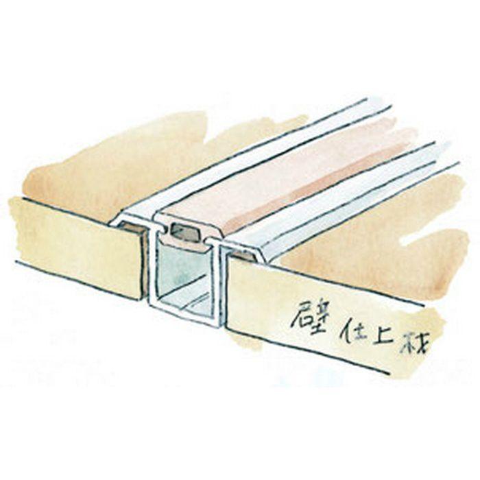 ハット型ジョイナー ビニール 軟質キャップ(FH用) m販売 ホワイト   53099-3