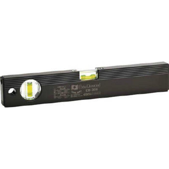ED30B ベーシックレベルブラック 300mm ブラック/グリーン