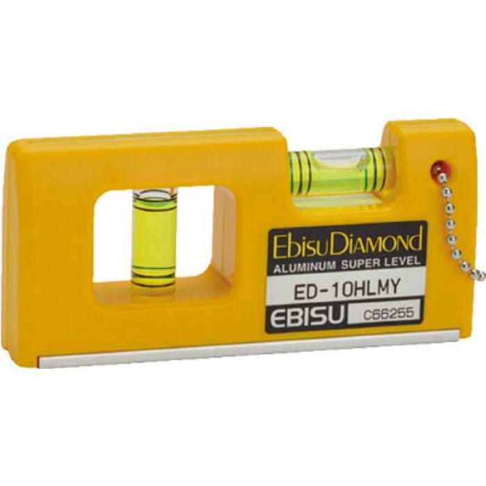 ED10HLMY 磁石付ハンディーレベルー2 イエロー