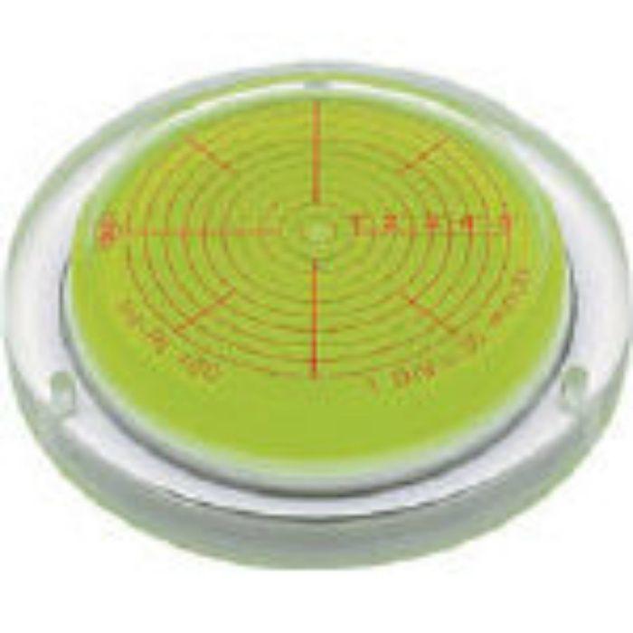 INCRT125 取付穴付角度計付丸台型アイベル水平器