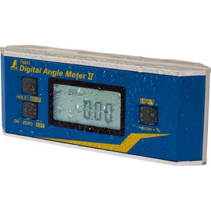 76825 デジタルアングルメーター2防塵防水