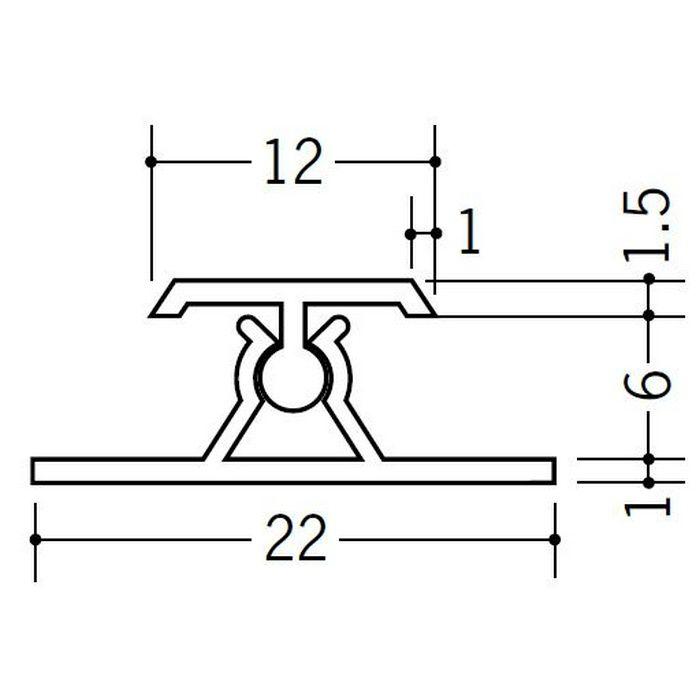 カンゴウジョイナー H型・コ型 ビニール カンゴウジョイナーKH-6 ホワイト 2.5m  31201