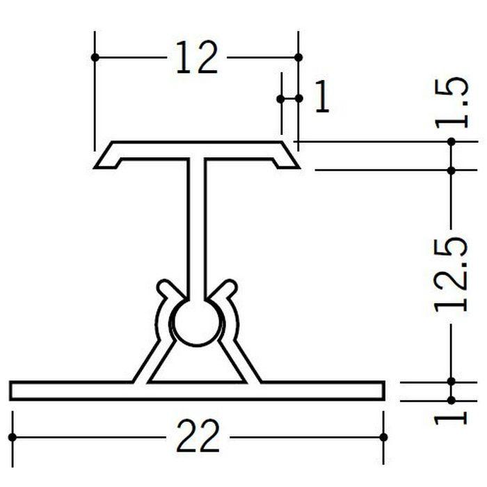 カンゴウジョイナー H型・コ型 ビニール カンゴウジョイナーKH-12.5 ホワイト 2.5m  31204
