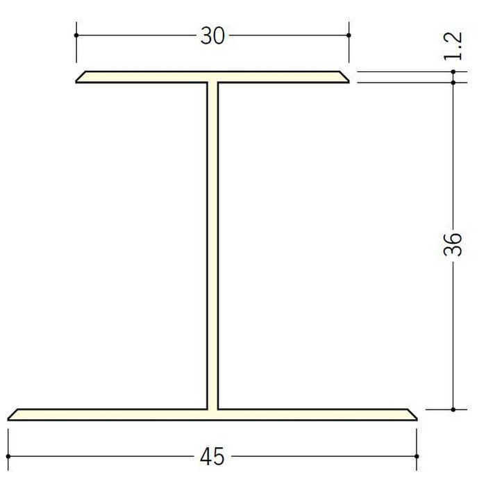 断熱材用ジョイナー H型 ビニール H型36 ホワイト 2.73m  35060-1