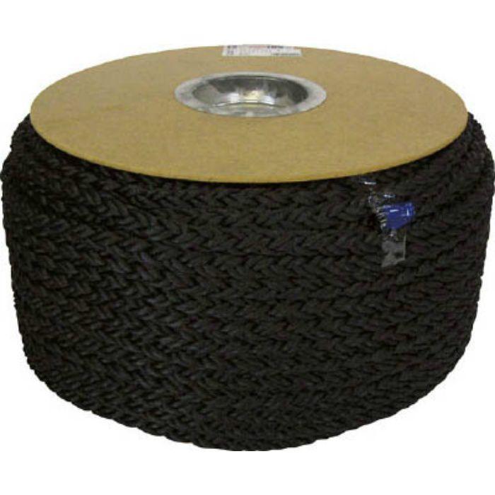 PRD61 ポリエステルクロス係留ドラム巻 12φ×100m 黒