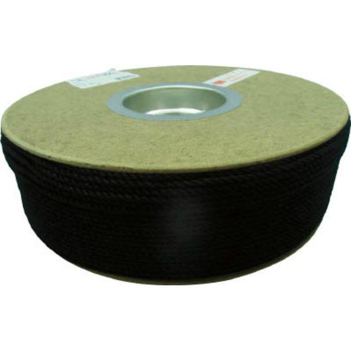 PRS71 ポリエステルロープ ドラム巻 3φ×300m 黒