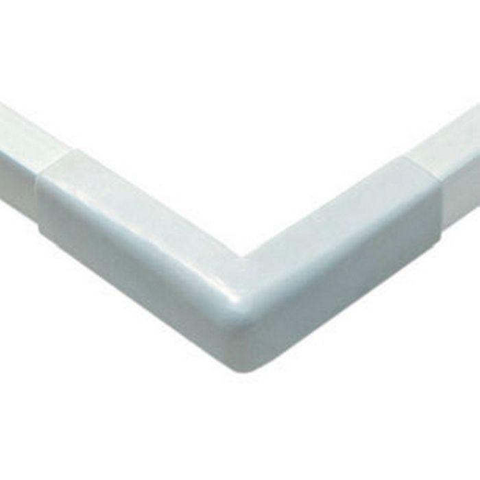 立ち上げ見切 ビニール GC-3.5カラー出隅用カバー オフホワイト   79148-1