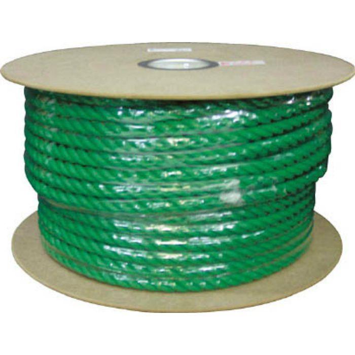 PRE163 PEカラーロープドラム巻 16φ×100m