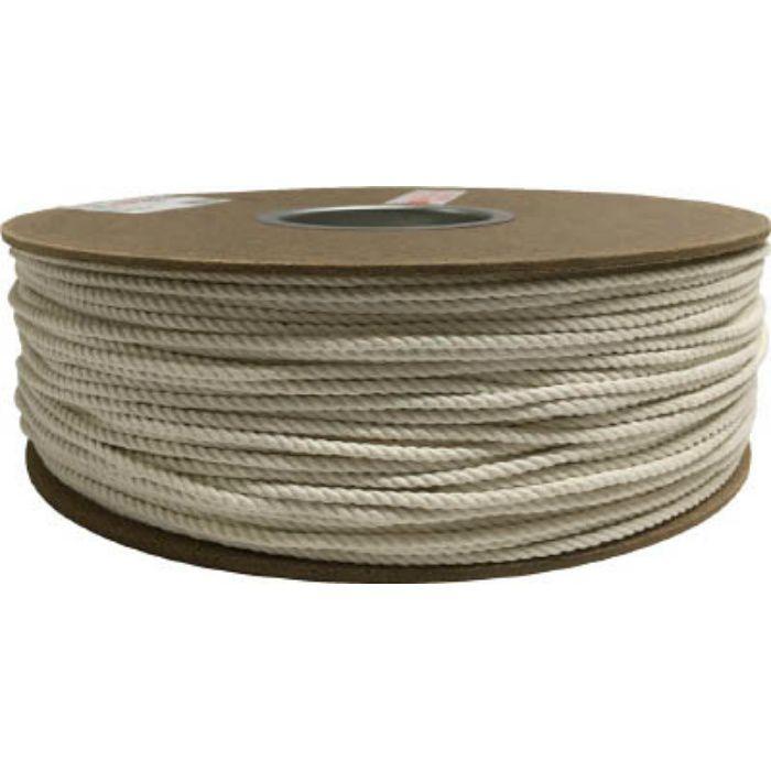 PRC7 綿ロープドラム巻 3φ×300m