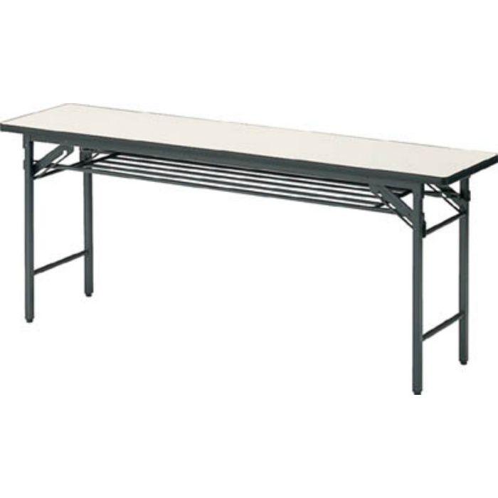 TS1560 折りたたみ会議用テーブル 1500X600XH700 アイボリー