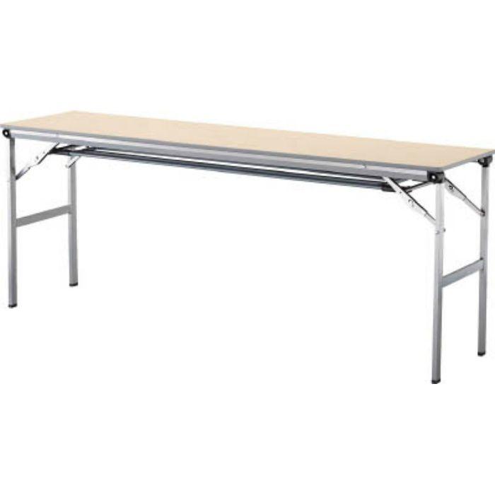 LOT1845TNA 折畳みテーブルLOT 棚付き1845Tサイズ ナチュラル