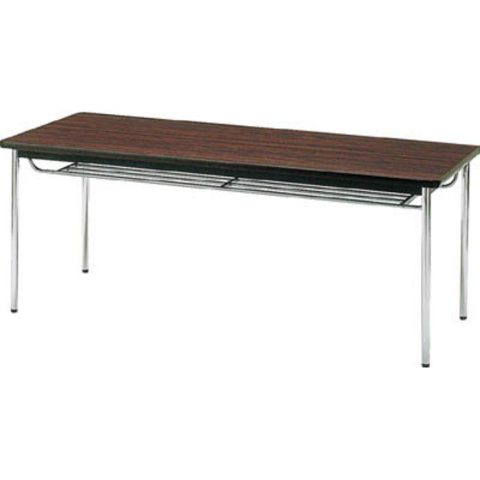 TDS1575T 会議用テーブル 1500X750XH700 丸脚 ローズ
