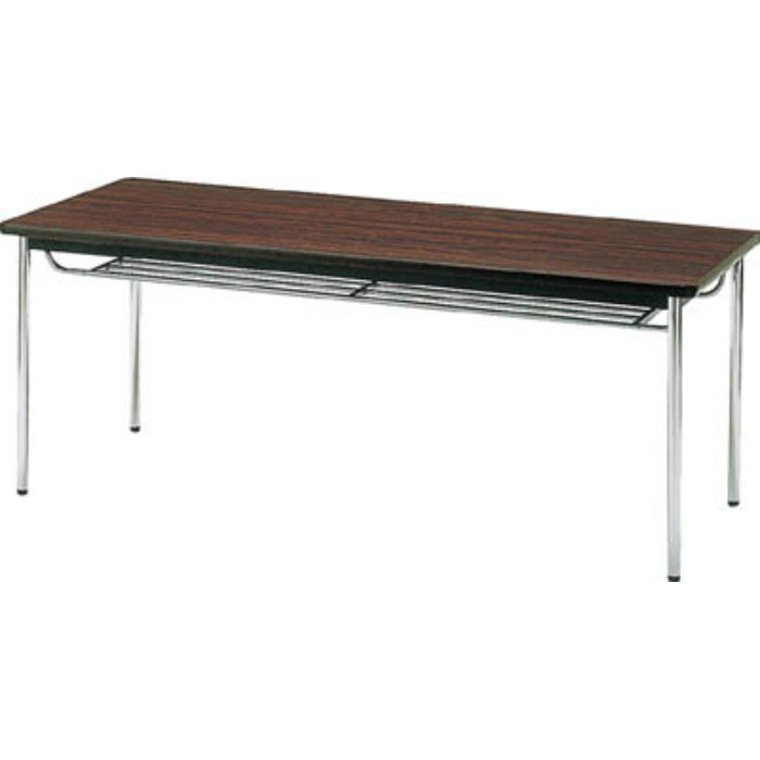 TDS1845T 会議用テーブル 1800X450XH700 丸脚 ローズ