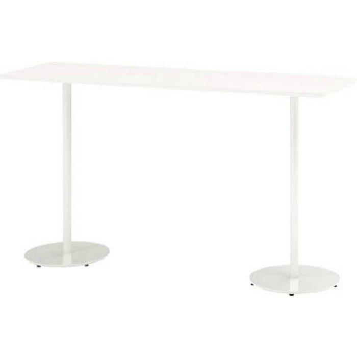TRA185HHW9W9 ハイテーブル(角型)1800X500X1000