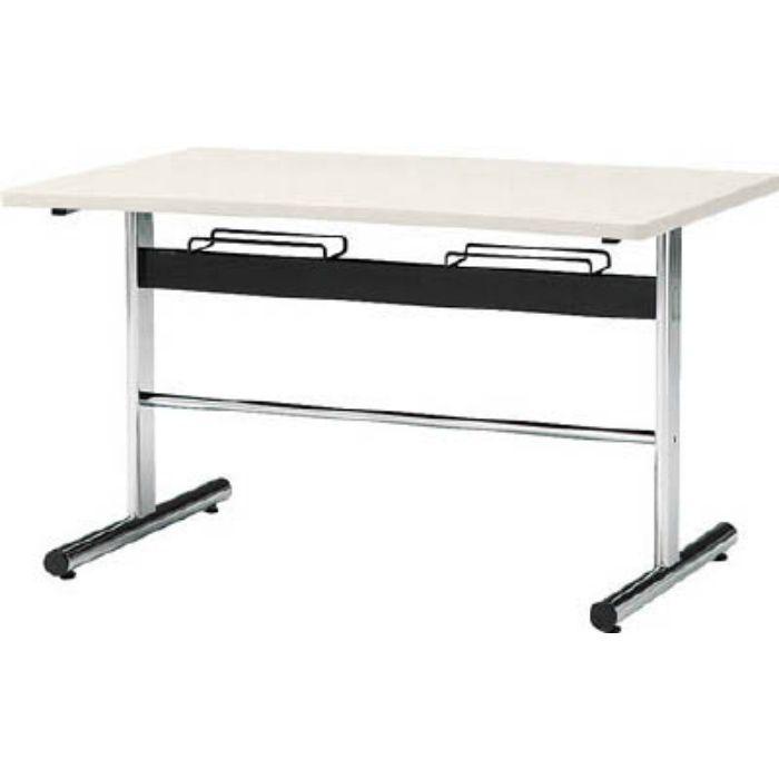 DA1275W 食堂用テーブル ソフトエッジ 1200×750mm ホワイト