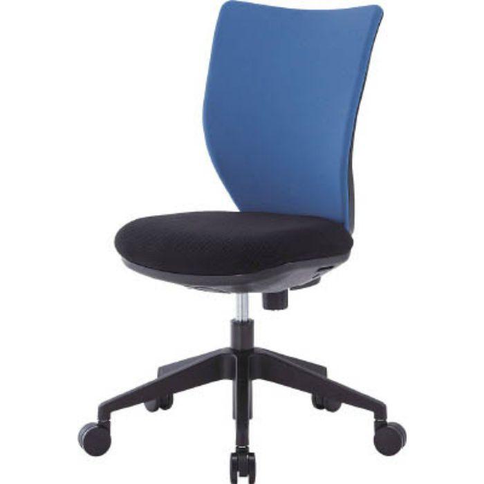 3DA45M0BL 回転椅子3DA ブルー 肘なし