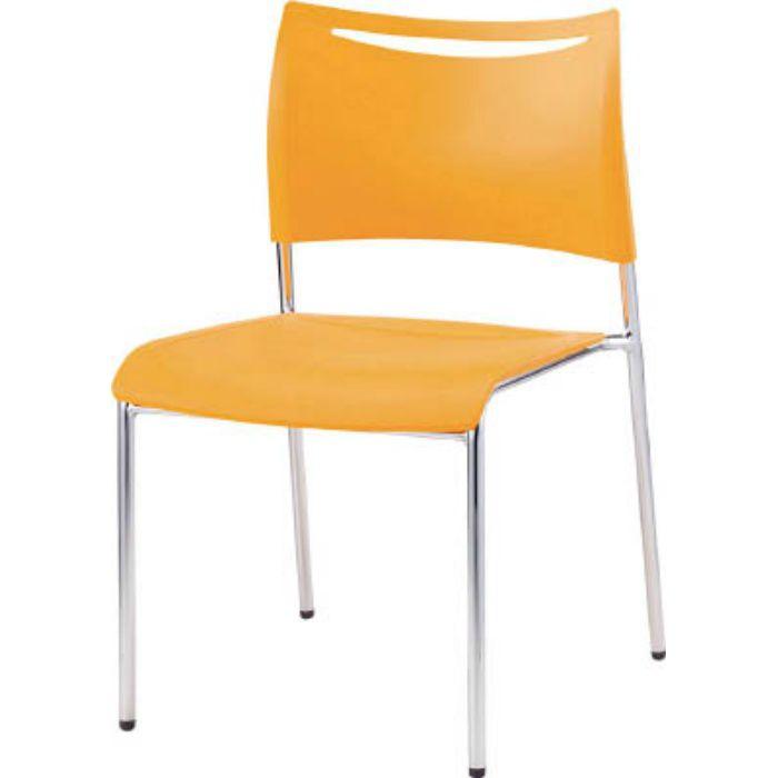 LTS4MZOG ミーティングチェアLTS オレンジ 背・座樹脂