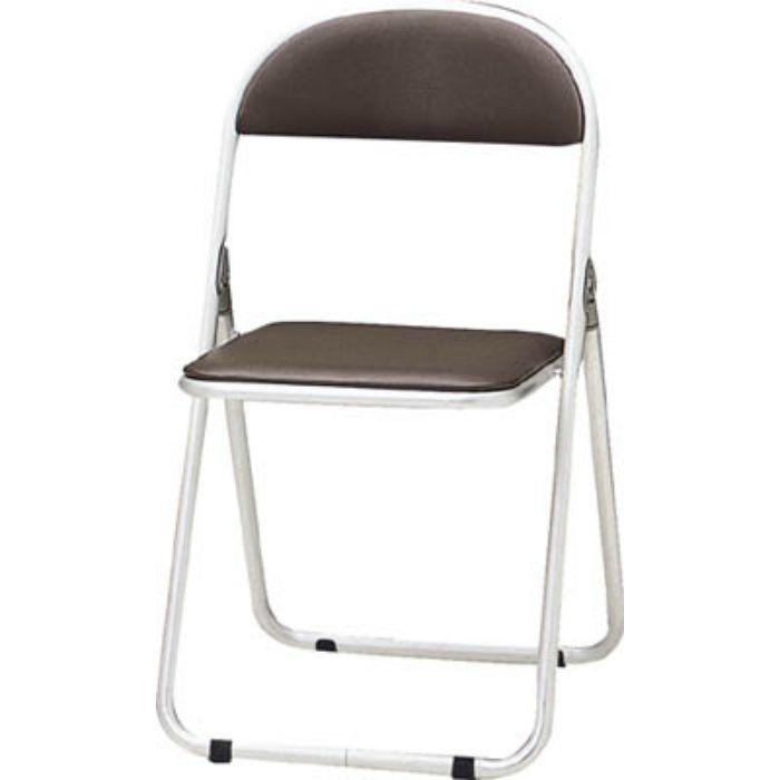 CF700BR パイプ椅子 シリンダ機能付 アルミパイプ ブラウン