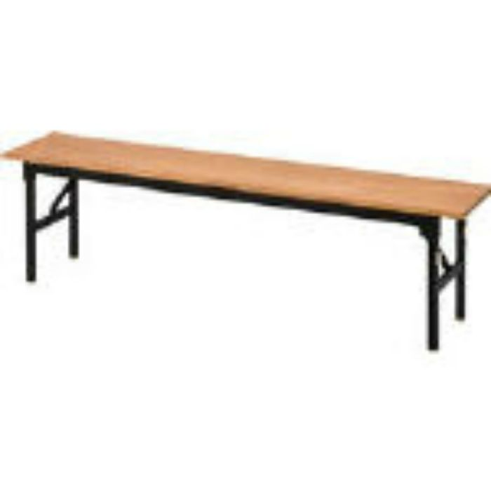 OCOB1830 折りたたみ木製合板ベンチ 1800X300X430