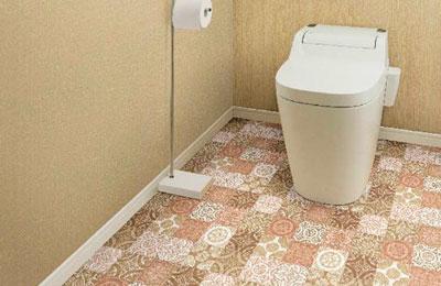 店舗・土足用クッションフロアー シンコール S2408 ポンリューム 土足・床暖対応 アンティグオ
